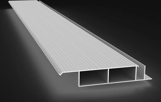 Planché fermé en aluminium