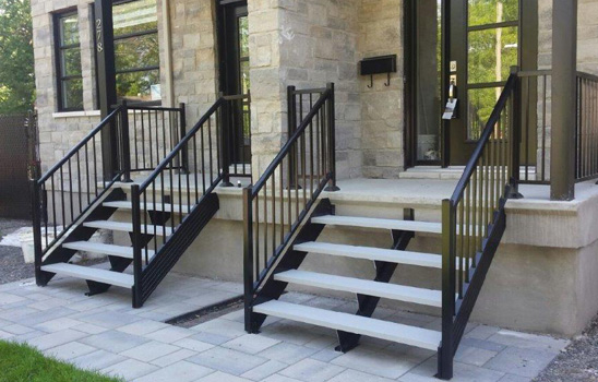 Aluminium Railings staircases